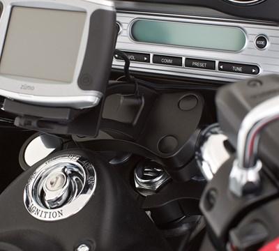 Vulcan® 1700 Vaquero® ABS GPS Mount, Black