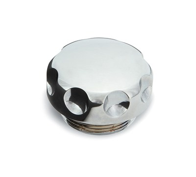 Vulcan® 900 Classic Billet Oil Cap, Chrome