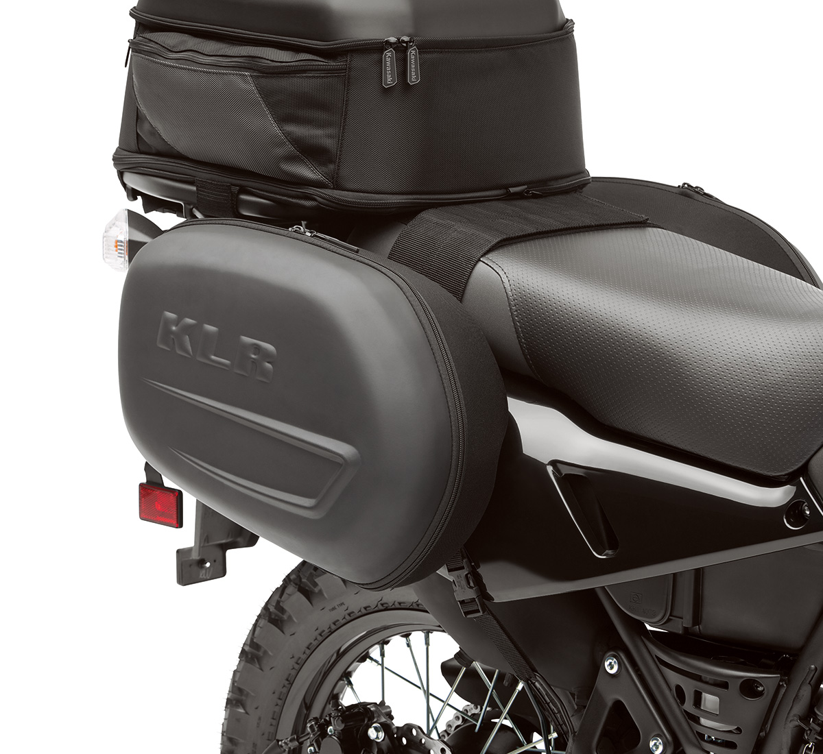 2016 klr™650 saddlebag set