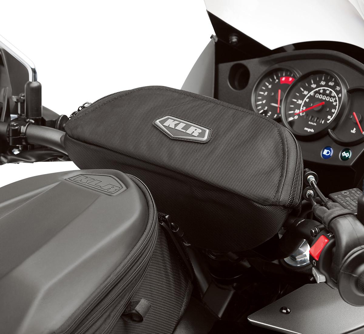 2018 Klr650 Klr Klx Motorcycle By Kawasaki 2007 650 Wiring Diagram Free Download Trans Handlebar Bag