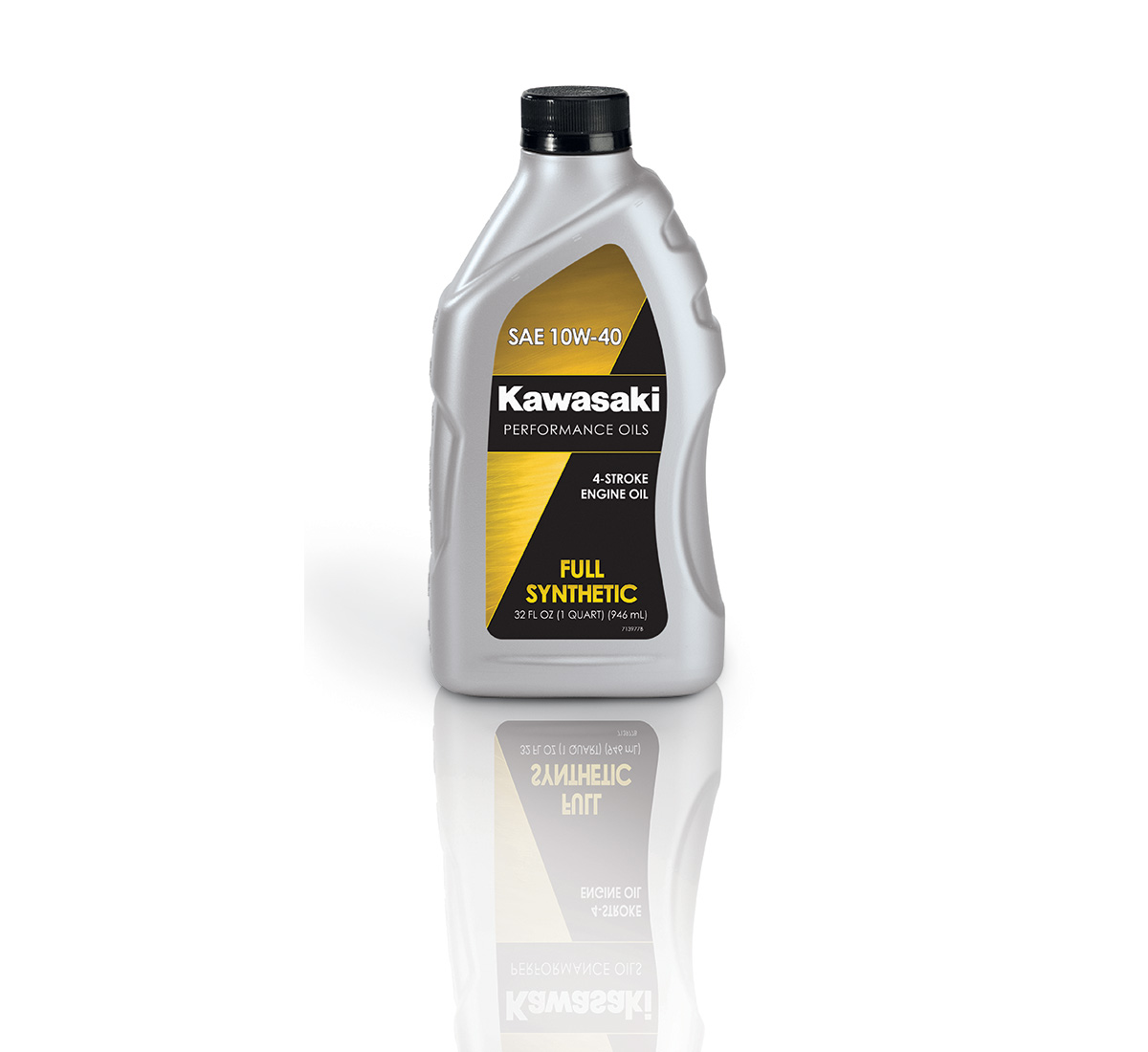 Kawasaki Performance 4-Stroke Full Synthetic Oil, Quart, 10W-40