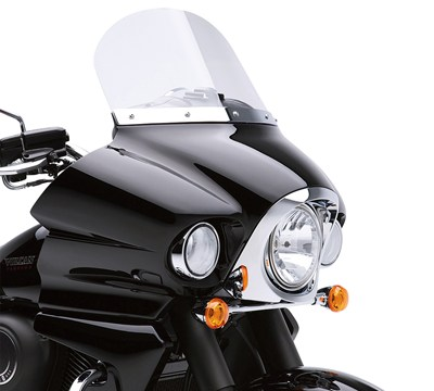 "Vulcan® 1700 Vaquero® ABS 12"" Windshield Kit"