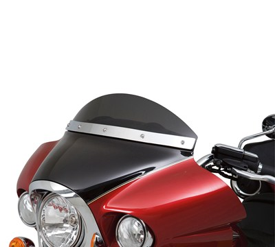 Vulcan® 1700 Voyager® ABS Smoked Wind Deflector, 6 1/2""