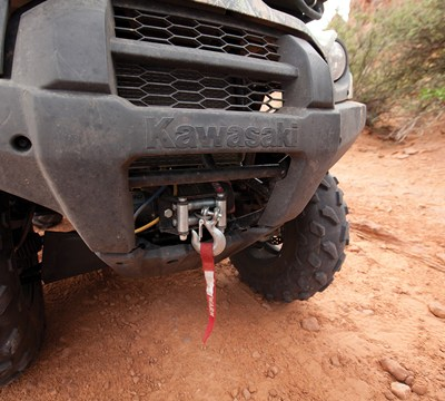 Brute Force® 750 4x4i EPS Winch Mount