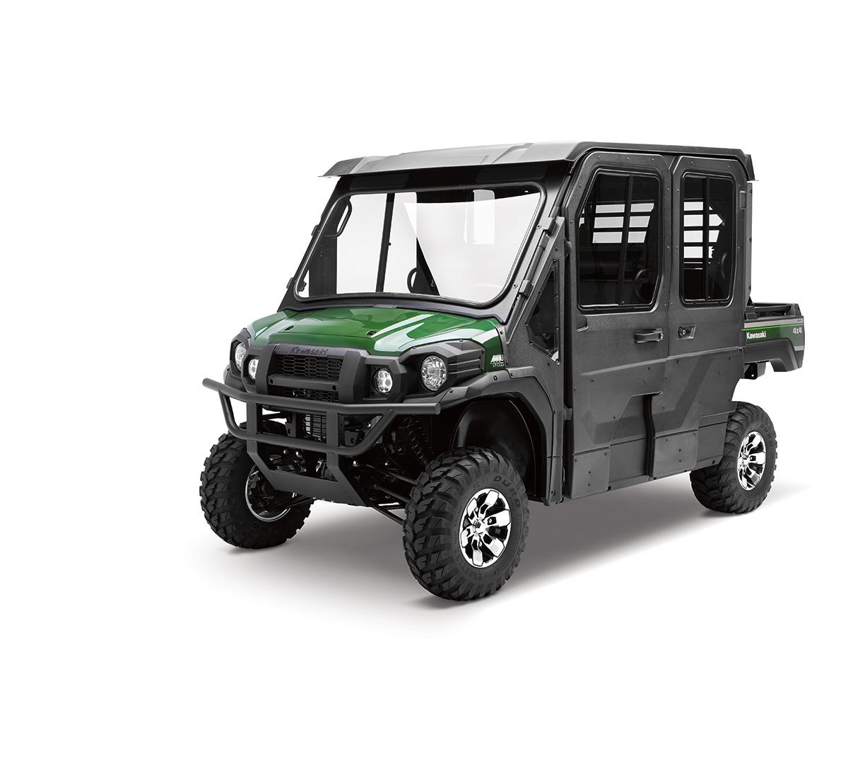 KAWASAKI MULE 4000 4010 4X4 DIESEL CAB ENCLOSURE BLACK DOORS