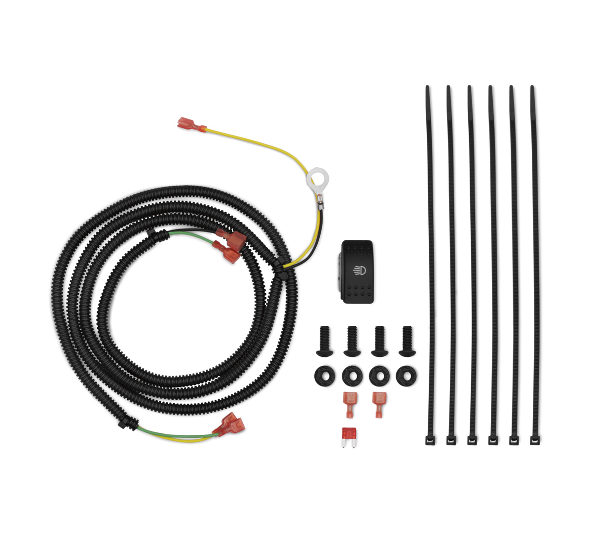 Mule Pro Wiring Diagram Schemes Kawasaki 2510 Side X Led Lightbar Harness Kit Rh Com 2015 Fxt