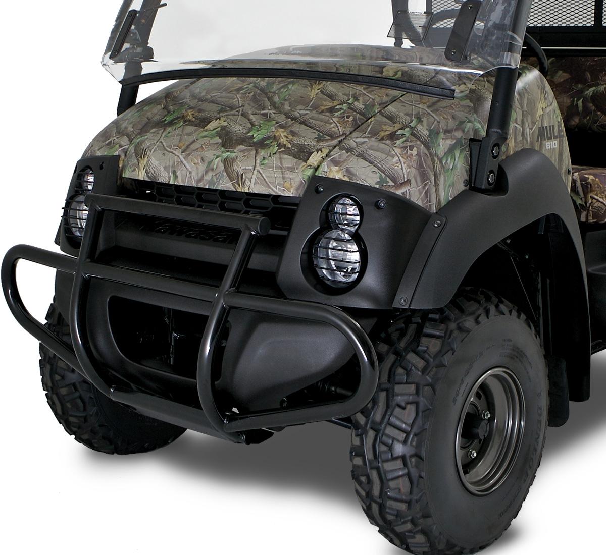 2015 mule™ 610 4x4 brush guard