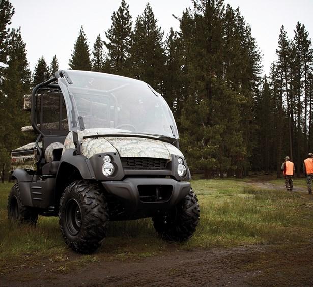 2016 mule™ 610 4x4 xc flip-up windshield