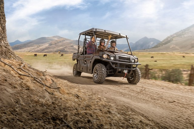 2016 kawasaki mule pro-fxt ranch edition